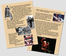 Inside Pages of the Booklet